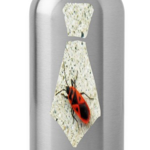 Khaki Stink Bug Necktie T-Shirts - Water Bottle
