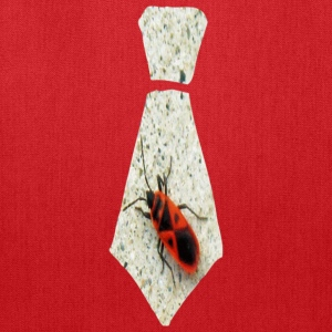 Red Stink Bug Necktie Kids' Shirts - Tote Bag