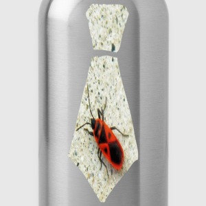 Red Stink Bug Necktie Sweatshirts - Water Bottle
