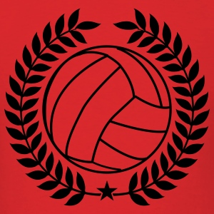 Red Cool Vintage Volleyball for Teams Hoodies - Men's T-Shirt