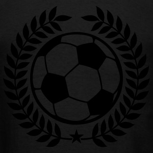 Black Vintage soccer champions Zip Hoodies/Jackets - Men's T-Shirt