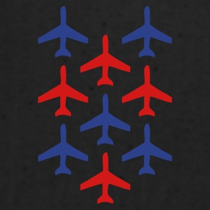 White top gun planes in formation Caps - Eco-Friendly Cotton Tote