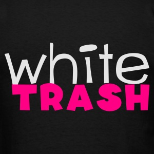 Black white trash Bags  - Men's T-Shirt