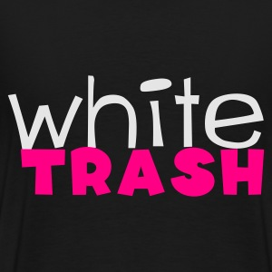 Black white trash Bags  - Men's Premium T-Shirt