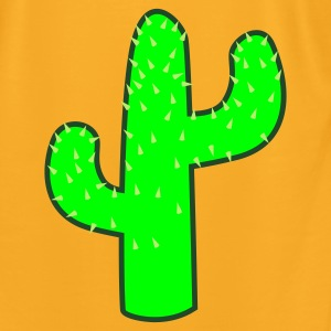 Creme cactus Bags  - Men's T-Shirt by American Apparel