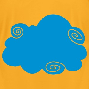 Creme fancy cloud  Bags  - Men's T-Shirt by American Apparel