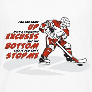 Ice Hockey - Men's Premium Long Sleeve T-Shirt