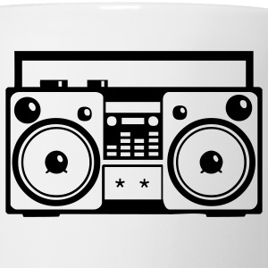 Stereo Music Boombox Old School 1c - Coffee/Tea Mug