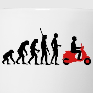 White evolution_vespa_2c Women's T-Shirts - Coffee/Tea Mug