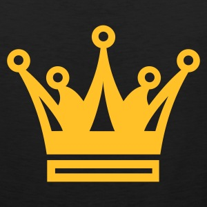 Black Crown Crest T-Shirts - Men's Premium Tank