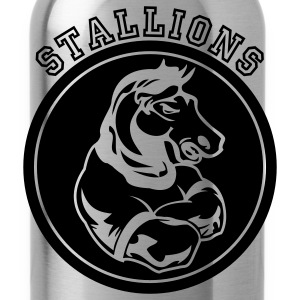 Red Stallions or Stallion Team Graphic Hoodies - Water Bottle