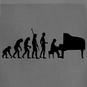 Khaki evolution_pianist T-Shirts - Adjustable Apron