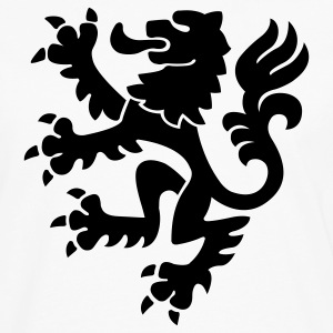 Medieval Lion Claws Crest 1c - Men's Premium Long Sleeve T-Shirt