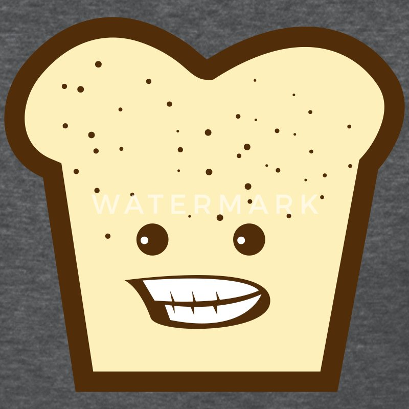 Deep heather toast with smiling teeth Women's T-Shirts - Women's T-Shirt