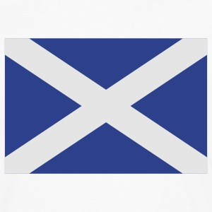 White scotland T-Shirts - Men's Premium Long Sleeve T-Shirt