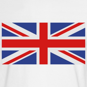 White uk flag Women's T-Shirts - Men's Long Sleeve T-Shirt