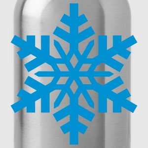 Black snowflake T-Shirts - Water Bottle