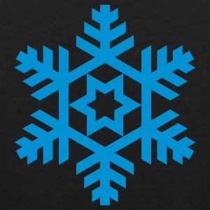 Black snowflake Women's T-Shirts - Men's Premium Tank