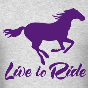 Live to Ride long Sleeve T-shirt - Men's T-Shirt