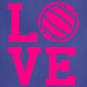Volleyball love Tank Top - Adjustable Apron