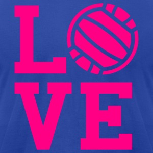 Volleyball love Tank Top - Men's T-Shirt by American Apparel