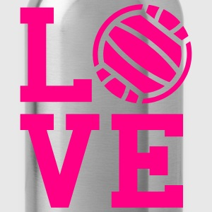 Volleyball love Tank Top - Water Bottle