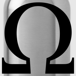 Black omega  T-Shirts - Water Bottle