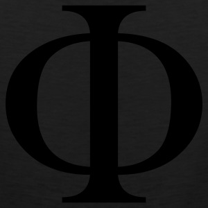 Black phi T-Shirts - Men's Premium Tank