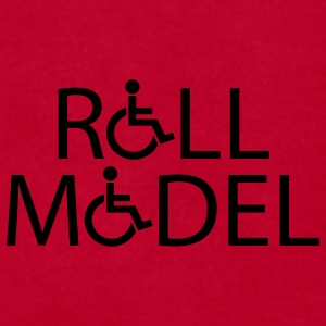 Red rollmodel Caps - Men's T-Shirt by American Apparel