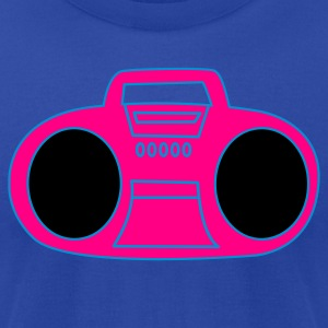 Moss hot music ghetto blaster 80s  Tanks - Men's T-Shirt by American Apparel