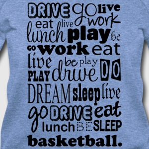 Basketball Life t-shirt - Women's Wideneck Sweatshirt