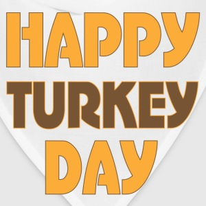 Thanksgiving Happy Turkey Day t-shirt - Bandana