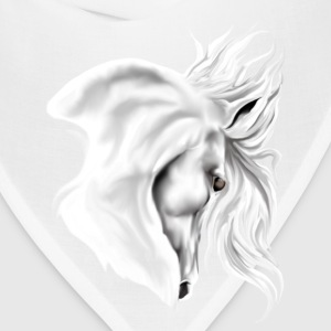 White Horse Head - Bandana