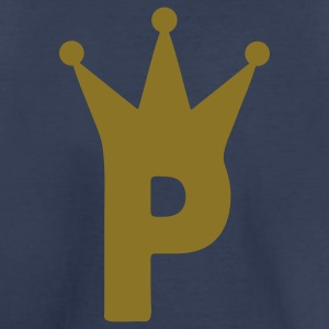 Navy crown_p Kids' Shirts - Toddler Premium T-Shirt