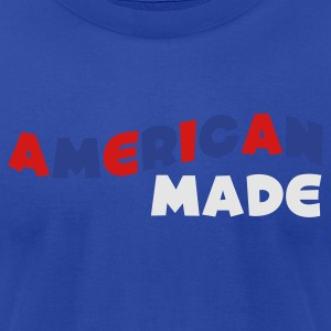 Brown American Made Tanks - Men's T-Shirt by American Apparel