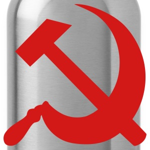 Black Hammer and Sickle T-Shirts - Water Bottle