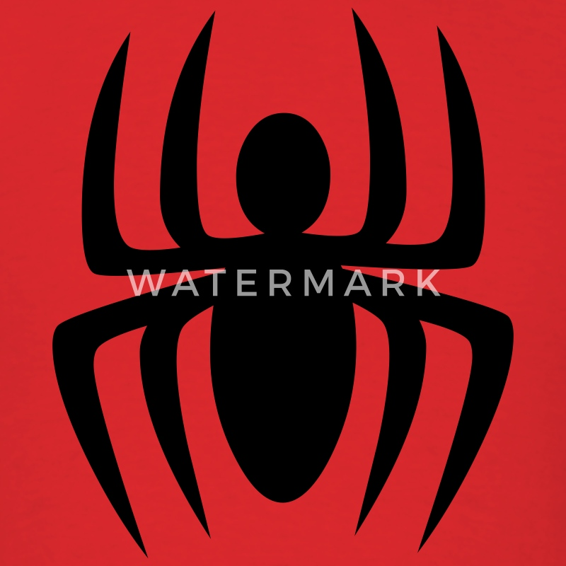 Red spider design T-Shirts - Men's T-Shirt