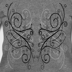 Deep heather curlyshapes_4_copy Women's T-Shirts - Women's Wideneck Sweatshirt