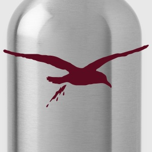 Slate bombing sea gull T-Shirts - Water Bottle
