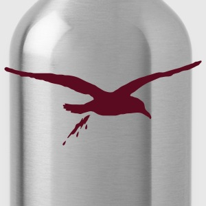 Navy bombing sea gull T-Shirts - Water Bottle