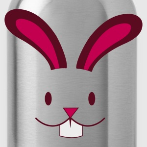 Light blue EASTER rabbit cute face with teeth ! Women's T-Shirts - Water Bottle