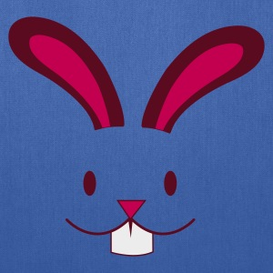 Light blue EASTER rabbit cute face with teeth ! Women's T-Shirts - Tote Bag