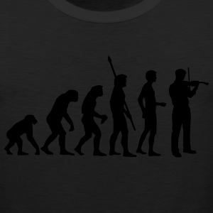 Black evolution_geiger_b T-Shirts - Men's Premium Tank