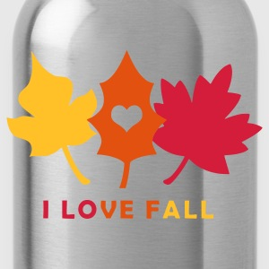 I LOVE FALL - Water Bottle