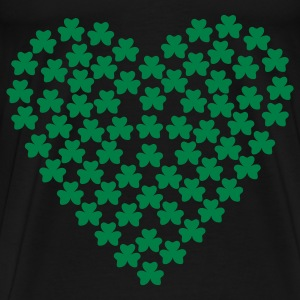 Black Shamrocks - St. Patrick Bags  - Men's Premium T-Shirt