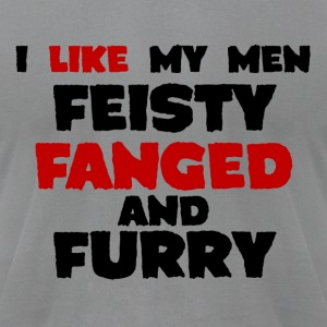 Feisty fanged & furry Jacob Black Women's long sleeve tee - Men's T-Shirt by American Apparel