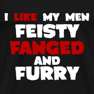 Feisty fanged & furry Jacob Black dark Hoodie - Men's Premium T-Shirt