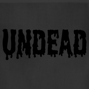 Black Undead logo T-Shirts - Adjustable Apron