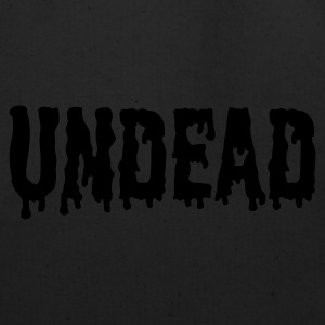 Black Undead logo T-Shirts - Eco-Friendly Cotton Tote