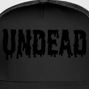 Black Undead logo T-Shirts - Trucker Cap